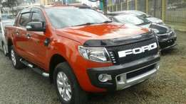 2013 Ford ranger wild track Double Cabin 3.2 diesel 4wd Fully Loaded