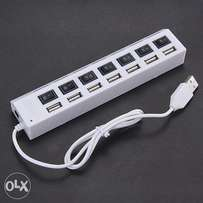 High speed 7 ports Expanded USB 2.0 Hub