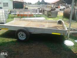 Heavy duty trailer 3.8m x 2.2m for sale at Bargain price