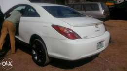 Toyota solara 2006 model with reverse camera