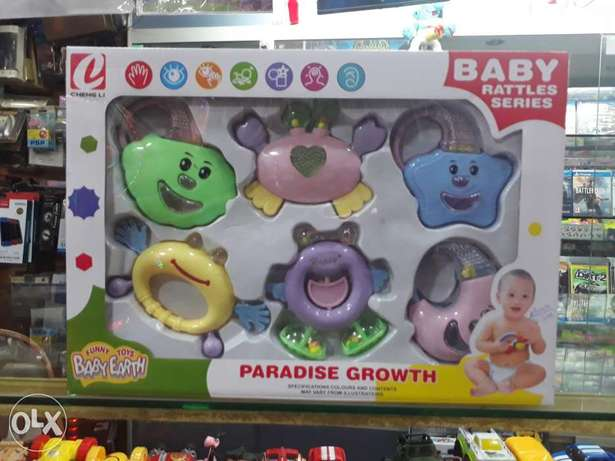 Funny toys for baby earth