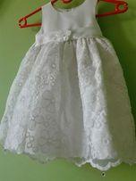 dced188756 sukienka elegancka cinderella 2-3 latka roz. 92 kremowa