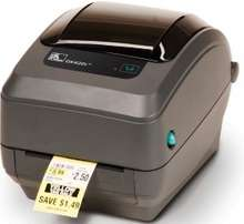 Zebra GK420D-Desktop Direct Thermal Barcode Printer With Parallel, Ser