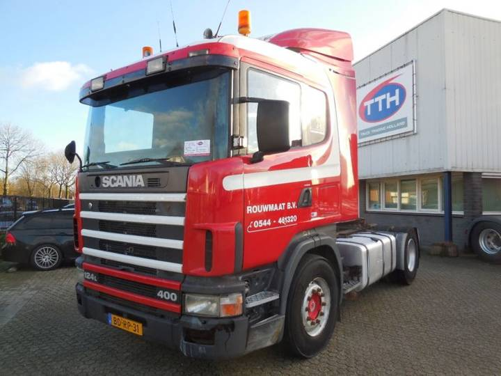 Scania R124-400 CR19 Manual NL Truck Euro2 - 1996