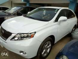 Lexus RX 450h pearl white fresh import