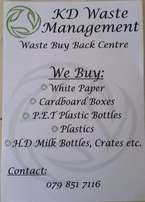 Turn your trash into cash, sell your recyclables now
