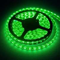 LED Strip Lights: 12Volts Waterproof SMD5050 GREEN Colour 5metre Rolls