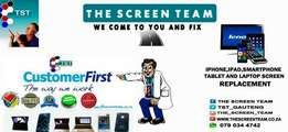 iPhone and ipad screens replacement services