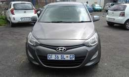 Hyundai i20 1.2 DSG 5 Door Colour Grey Model 2013 Factory A/C&MP3 Play