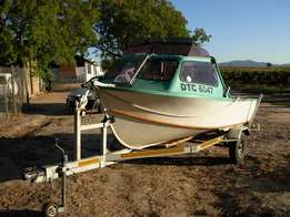 Hartley craft Snoekie cabin boat for sale