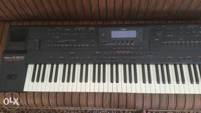 Roland G80 with USB Emulator
