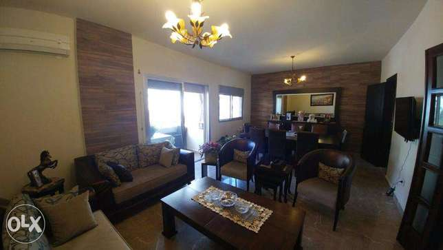 Ballouneh 140sqm redesigned perfect catch apartment for sale