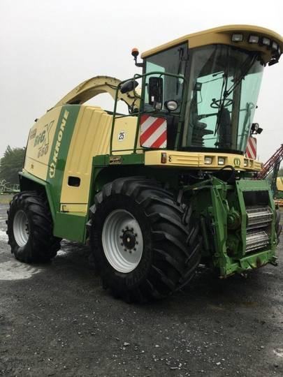Krone big x 650 - 2009