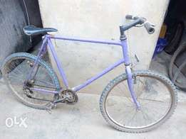 A used Raleigh bicycle