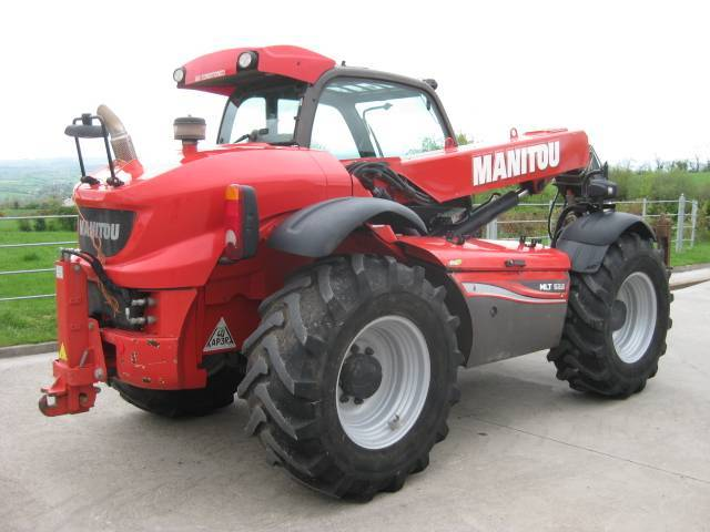 Manitou Mlt 629 T - 2017