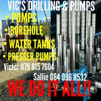 Borehole & Electric Pumps
