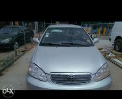 Neatly used Toyota corolla for sale, first body, nothing to fix