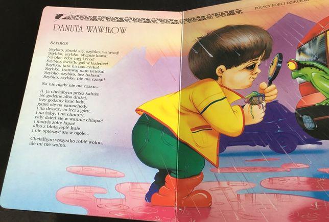 Kolorowe Wiersze Polscy Poeci Dzieciom Borówiec Olxpl