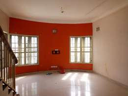 A Lovely 4 Bedroom Terrace Duplex in Estate To Let at Saint Agnes Yaba