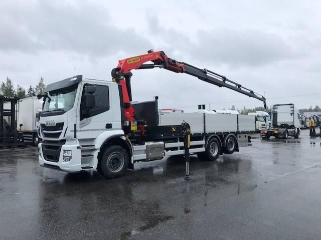 Iveco Stralis Ad260s40 Valmis Rautakauppa Auto - 2019