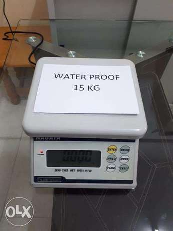 Brand New Weighing Scales 15kg Water proof