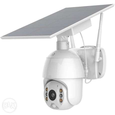 Solar ptz camera security without wire