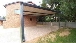 Carport Double 6m x 6m for R11'500