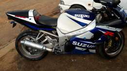 Suzuki gsxr 1000 swop or sell 40k