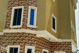 Brand New 4bedroom Detached house at Alpha Beach Ajah