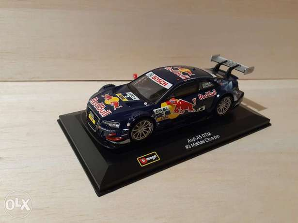 Audi A5 DTM #3 Mattias Ekstrom diecast car model 1:32.
