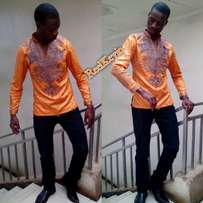 African embroidery shirts