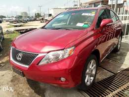 Lexus RX350, Lagos cleared, full option, full duty paid, buy and drive
