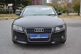 2010 Audi A5 2.0 tfsi cabriolet mtronic in good condition