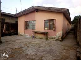 Bungalow of two numbers of two bed room flat at Governor's road Ikotun