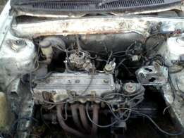 Ford Laser E3/E5 Mazda For Spares or sale as is