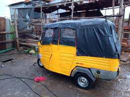 piaggio tuktuk sale engine never been opened already on road 1500daily