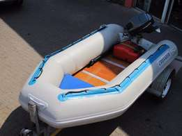 2008 Crusader Duck 3.1M with 15hp Yamaha
