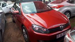 2012 Volkswagen Golf 1.4TSI Convertible / Cabriolet for sale