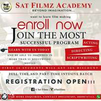 You want to learn film making, Acting, Directing, Scriptwriting