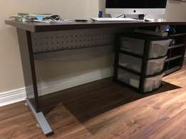 Office Desk and Book Shelves