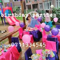 Theme birthday parties,themed party set up,supplies and deco for hire