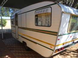 Amazingly good condition 4 bed Jurgens Champion Caravan for sale