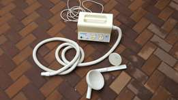 Water pressure body and head massager