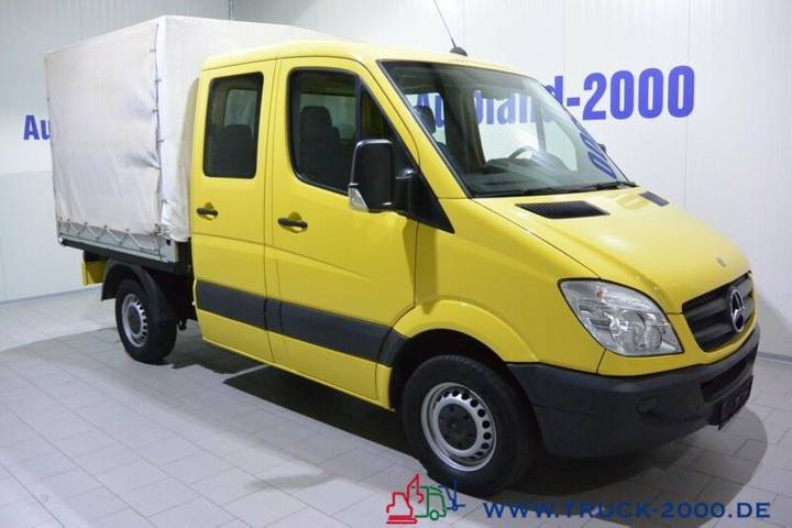 Mercedes-Benz Sprinter 215 CDI DoKa 150 PS 6-Sitze AHK 54 TKM - 2008