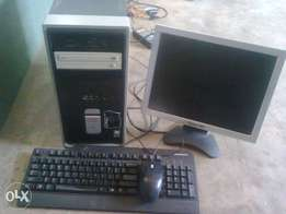 slightly used compaq with 80 gig hard disk