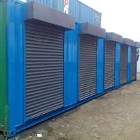 Container Stalls.