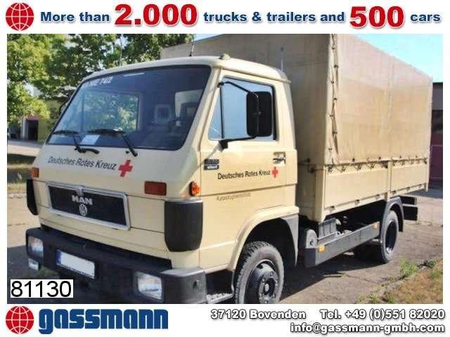 MAN -vw 8.150 F 4x2 - 1993