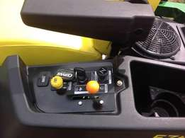 16 hours usage on meter Perfect condition Model Z445 Ride on Mower