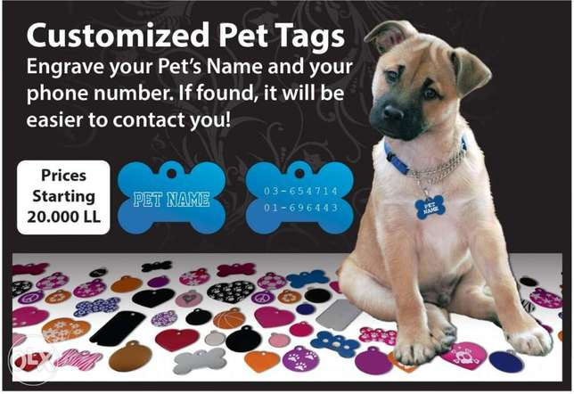 Pet Tags Engraving