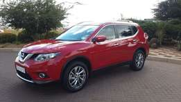 2015 Red Nissan X-Trail 1.6dCi SE 4 X 4 (T32) Excellent Condition